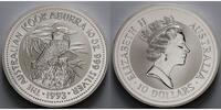 10 $,10 oz. 1993 Australien Kookaburra stgl  575,00 EUR  + 23,00 EUR frais d'envoi