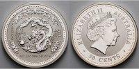 50 Cents,1/2 oz. 2002 Australien Jahr des Drachen / Chines.Tierkreiszei... 99,80 EUR  + 17,00 EUR frais d'envoi