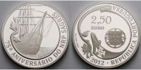 Portugal 2,5 Euro 2012 <b>PP</b> 75 Jahre ...