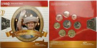 Niederlande 3,88 Kursmnzensatz /Abdankung der Knigin Beatrix mit Medaille in Cu/Ni 