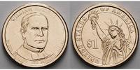 1 $ 2013 D USA William Mc Kinley / Kupfer-Nickel, Denver vz  3,50 EUR  + 7,00 EUR frais d'envoi