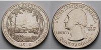 1/4 $ 2013 S USA White Mountain /S - Kupfer-Nickel - vz  2,00 EUR  zzgl. 3,95 EUR Versand