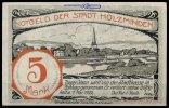 5 Mk  Holzminden Grabowski 625.1 I-  25,00 EUR  + 7,00 EUR frais d'envoi
