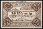25 Pfg.  Hannover Grabowski 572.2 I-II  1,65 EUR  zzgl. 3,95 EUR Versand