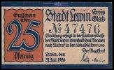25 Pfg.,  Läwin, Polen Grabowski L35.7a I  1,35 EUR  + 7,00 EUR frais d'envoi