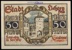 50 Pfg.,  Lichtenfels am Main, Bay Grabowski L36.5 I-  2,50 EUR  + 7,00 EUR frais d'envoi