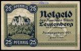 25 Pfg.,  Leutenberg, Thür. Grabowski 796.1a I-II  1,60 EUR  + 7,00 EUR frais d'envoi