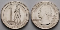 USA 1/4 $ Perry´s Victory (Peace Memorial) /S - Kupfer-Nickel -