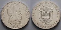 20 Balboas, 62 mm Ø, 119,88 g.fein 1972/76 Panama Simon Bolivar (1783-1... 99,00 EUR  + 17,00 EUR frais d'envoi