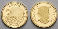 Kanada 50 cents1/25oz1,27gfein13,92mm Ø  2013  PP Seeadler - Bald Eagle,... 114,80 EUR