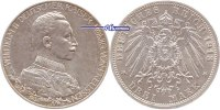 3 Mark 1913 Preussen Wilhelm II, 25jähriges Regierungsjubiläum, J.112 l... 29,00 EUR  + 17,00 EUR frais d'envoi