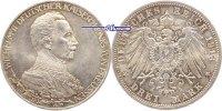 3 Mark 1913 Preussen Wilhelm II, 25jähriges Regierungsjubiläum, J.112 P... 35,00 EUR  + 17,00 EUR frais d'envoi