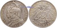 2 Mark 1901 A Preussen, Wilhelm II  1888-1918, zum 200jährigem Bestehen... 23,00 EUR  + 7,00 EUR frais d'envoi