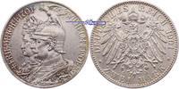 2 Mark 1901 A Preussen, Wilhelm II  1888-1918, zum 200jährigem Bestehen... 19,00 EUR  + 7,00 EUR frais d'envoi
