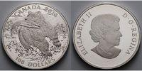 100 $ 2014 Kanada Grizzly, Bear - Neue Serie inkl. Etui & Schuber, Zert... 159,50 EUR135,58 EUR  + 17,00 EUR frais d'envoi
