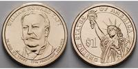 USA 1 $ William Howard Taft / Kupfer-Nickel, Philadelphia