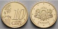 10 Cent 2014 Lettland Kursmünze, 10 Cent, stgl  1,50 EUR  + 7,00 EUR frais d'envoi