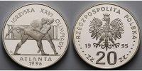 20 Zlotych 1995 Polen Oly Sommer Atlanta, Ringer, inkl. Kapsel und MDM ... 95,00 EUR  + 17,00 EUR frais d'envoi