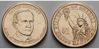 1 $ 2014 D USA Calvin Coolidge / Kupfer-Nickel, Denver vz  3,50 EUR
