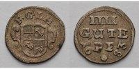 Corvey, Abtei Vier-Gute-Pfennig 1683  R Sehr schön Christoph von Belling... 239,00 EUR  zzgl. 5,00 EUR Versand