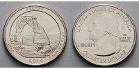 1/4 $ 2014 P USA Arches National Park /P - Kupfer-Nickel - vz  2,00 EUR  + 7,00 EUR frais d'envoi