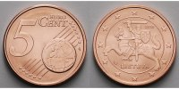 5 Cent 2015 Litauen Kursmünze, 5 Cent, Ab sofort lieferbar!!! stgl  1,00 EUR  zzgl. 3,95 EUR Versand