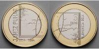 3 Euro 2014 Slowenien Janez Puhar 1814 - 1864 vz-stgl Bimetall  7,80 EUR  + 7,00 EUR frais d'envoi