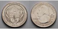 1/4 $ 2015 P USA Homestead Monument /P - Kupfer-Nickel - vz  2,00 EUR  + 7,00 EUR frais d'envoi