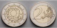 2 Euro 2015 Griechenland 30 Jahre EU-Flagge 1985-2015 stgl  4,80 EUR  + 7,00 EUR frais d'envoi