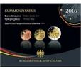 5,88 2016 D Deutschland Kursmünzensatz,   Prägestätte D  PPim Blister  43,50 EUR  + 17,00 EUR frais d'envoi