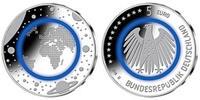 5 Euro 2016 J Deutschland blauer Planet Erde, Prägestätte J, sofort lie... 35,80 EUR  zzgl. 5,00 EUR Versand