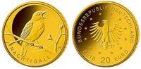 20 Euro5 x 3,89gfein17,5 mm Ø 2016 ADFGJ Deutschland Heimische Vögel, N... 1049,00 EUR  + 23,00 EUR frais d'envoi