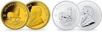 2 Münzen  1/50 oz.  1 oz.  Pärchen 2017  S...