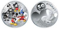 50 Euro<br> 155,61g<br> fein<br> 50 mm Ø 2...