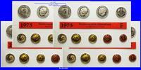 Deutschland 42,72 DM Amtlicher Kursmünzensatz in Folie, minimal defekt