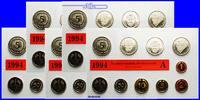 Deutschland 63,40 DM Amtlicher Kursmünzensatz in Folie