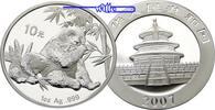 10 Yuan 2007 China Panda Bären, 1 oz, Silber stgl  89,80 EUR  zzgl. 5,00 EUR Versand