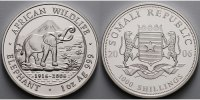 Somalia 1000 Shillings<br>1 oz.<br>Ø 39 mm...
