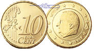 Belgien 10 Cent Kursmünze, 10 Cent