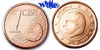 1 Cent 2001 Belgien Kursmünze, 1 Cent stgl  4,00 EUR  + 7,00 EUR frais d'envoi
