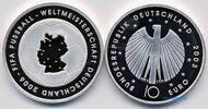 10 Euro 2003 Deutschland Fußball WM 06 /  1S. Fußball 3. Ausg. in 03Buc... 32,50 EUR  zzgl. 5,00 EUR Versand
