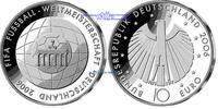10 Euro 2006 A Deutschland Fußball WM 06/4. Serie Fußball 2. Ausg.in 20... 29,90 EUR  + 17,00 EUR frais d'envoi