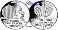 10 Euro 2009 Deutschland 400 Jahre Keplersche Gesetze,2. Ausg. in  2009... 33,00 EUR  + 17,00 EUR frais d'envoi