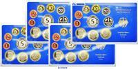 50,72DM 1980 D/F/G/J SET Deutschland Amtlicher Kursmünzensatz in blauem... 62,00 EUR  + 17,00 EUR frais d'envoi