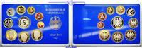 12,68DM 1991 A Deutschland Amtlicher Kursmünzensatz in blauem Epalux PP  20,00 EUR  + 7,00 EUR frais d'envoi