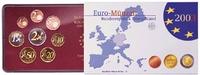 3,88 2003 G Deutschland Kursmünzensatz PP im Blister  21,80 EUR  + 7,00 EUR frais d'envoi