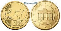 50 Cent 2007 D Deutschland Kursmünze, 50 Cent stgl  9,50 EUR  + 7,00 EUR frais d'envoi