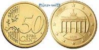 50 Cent 2011 J Deutschland Kursmünze, 50 Cent stgl  9,50 EUR  zzgl. 3,95 EUR Versand