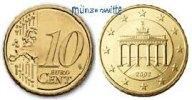10 Cent 2011 F Deutschland Kursmünze, 10 Cent stgl  9,50 EUR  + 7,00 EUR frais d'envoi