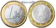 1 Euro 2006 F Deutschland Kursmünze, 1 Euro stgl  14,50 EUR  + 7,00 EUR frais d'envoi